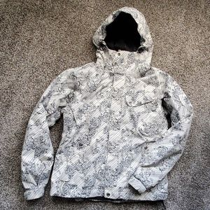 The North Face rare Filagree ski coat